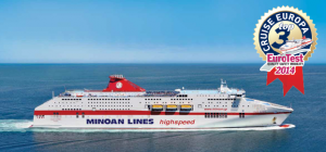 Minoan Lines flagship Cruise Europa among the safest ferries in Europe. - Media Gallery