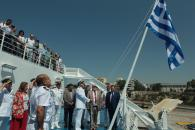 "On Monday 16th June 2018 the inauguration ceremony of Minoan Lines' Cruise Ferry ""MYKONOS PALACE""  was held at  Piraeus port - Media Gallery"